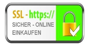 Zahlungsarten bei FERAGEN: Dank SSL 100% Sicher